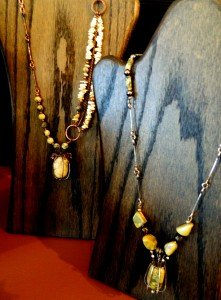 local color art gallery peggy lierheimer necklace