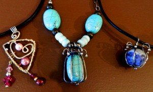 local color art gallery peggy lierheimer turquoise necklace
