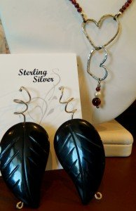 local color art gallery peggy lierheimer earrings