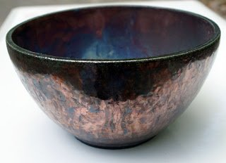 Mark Strayers Local Color Art Gallery  Copper Bowl 1