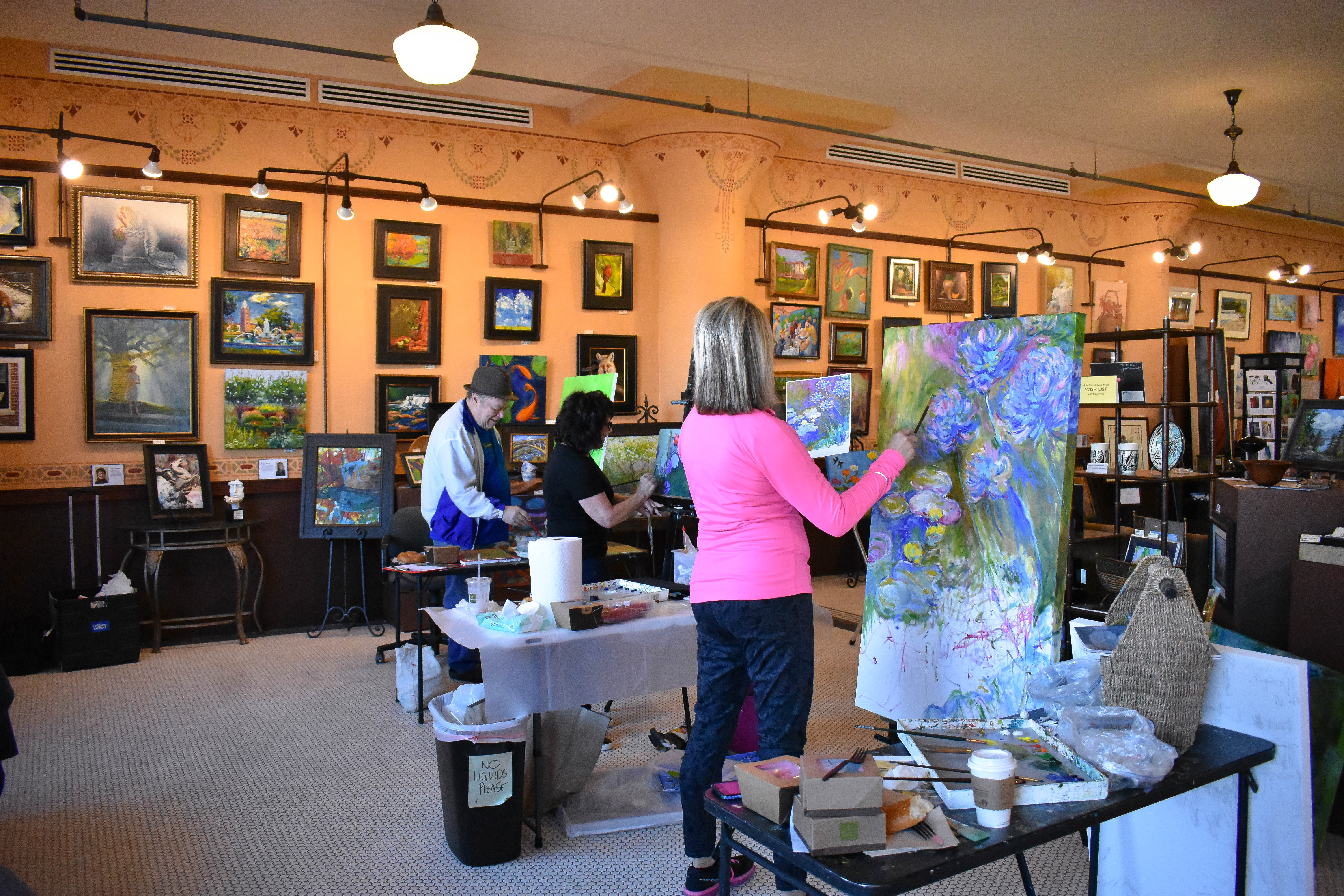 painting classes joplin mo local color art gallery