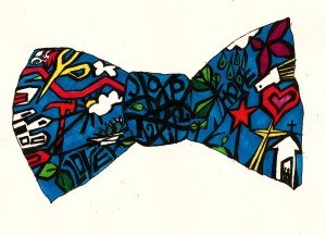Margie Moss Local Color Art Gallery Joplin MO Bow Tie
