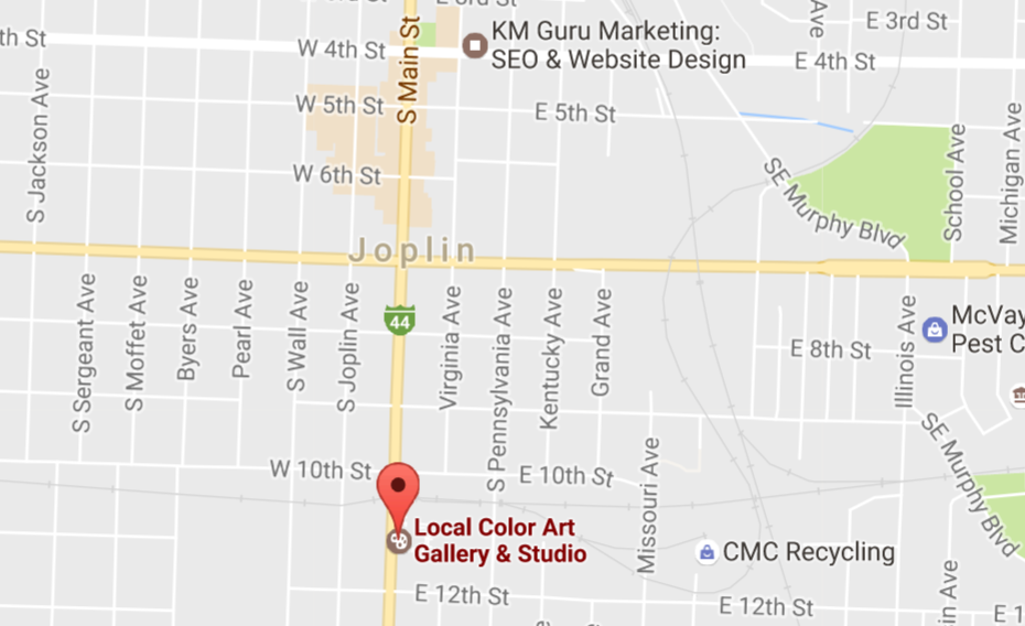 Local Color Art Gallery Joplin MO